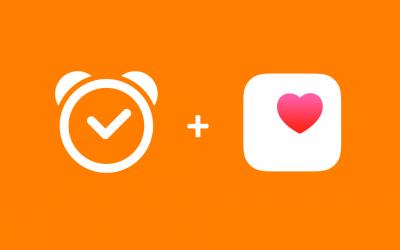 Sleep Cycle + Apple Health app