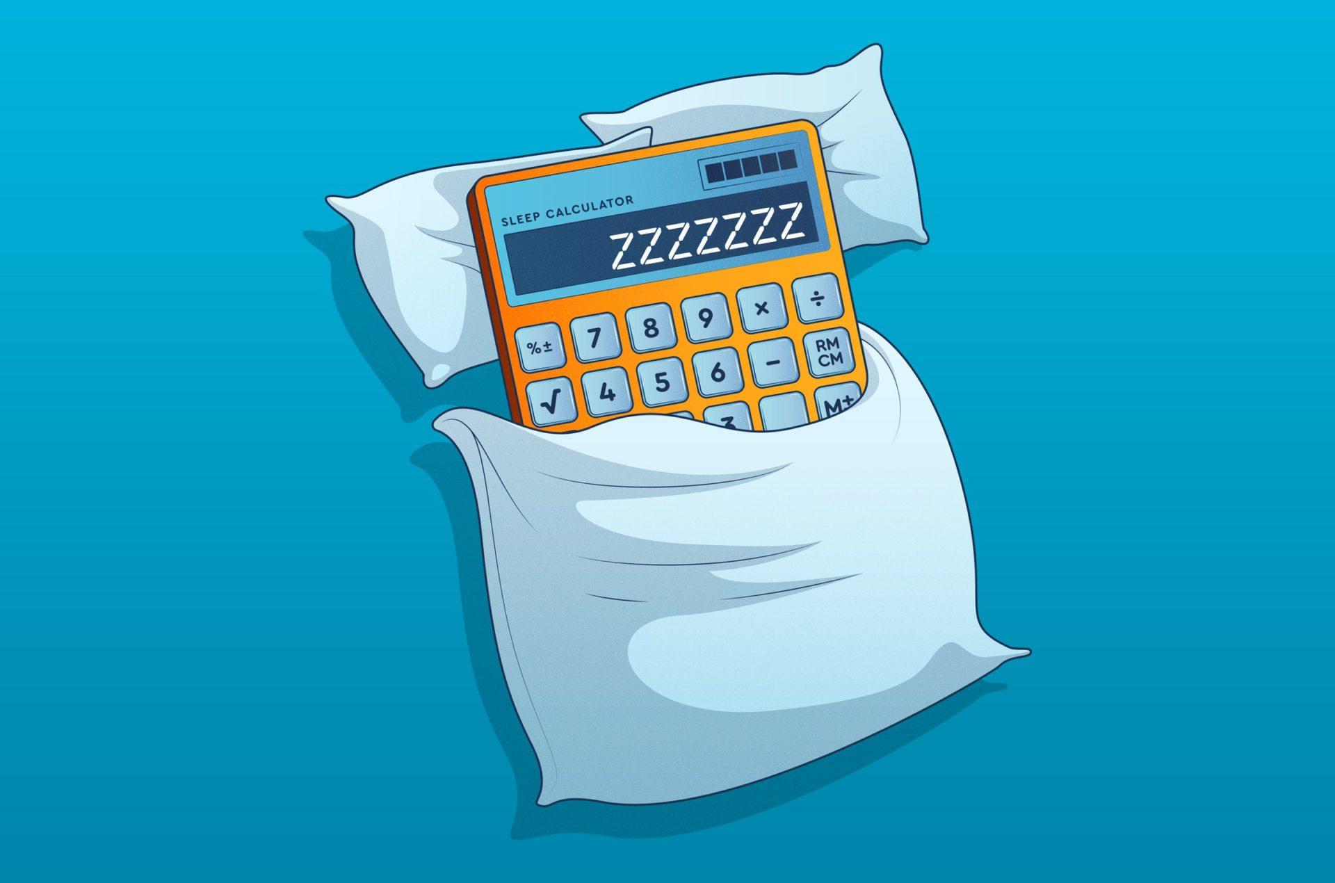sleep calculator- how much sleep do I need